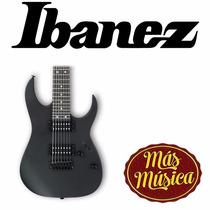 Guitarra Electrica Gio 7221 Black Flat Ibanez Grg7221 Bkf