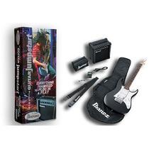 Kit Ibanez Grx40 Guitarra Strato Ampli 10w + Accesorios