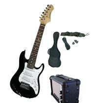 Combo Guitarra Mini Niño Electrica Amplificador Accesorio Or