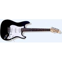 Guitarra Strato + Acc Cuotas S/interés Cualquier Tarjeta