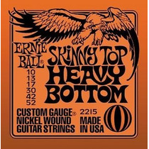 Cuerdas Ernie Ball Hibridas 010/011 Skinny Top Heavy Bottom