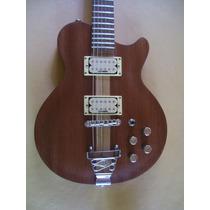 Guitarra Luthier - Maderas Preciosas Caoba Y Arce