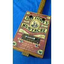 Cigar Box Guitar Clasica Piezo Electrico