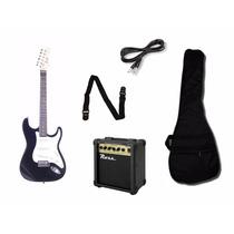 Combo Guitarra Eléctrica Parquer Amplificador +accesorios