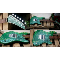 Guitarra Vintage Stratocaster Personalizada Estilo Reggae