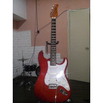 Guitarra Jay Turser Strato 2 Mics Simples Y 1 Doble Bobina