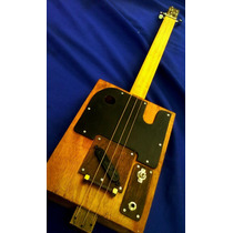 Cigar Box Guitar Cigarcaster By Telecaster