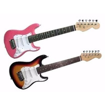 Guitarra Eléctrica Para Niños Infantil Texas Kid