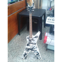Dean Dof Guitarra Eléctrica Mics. Zebra Camuflada!!
