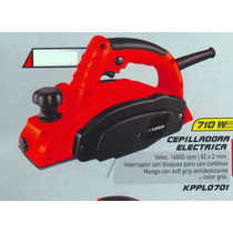 Cepilladora Electrica Versa 710 Watts Kppl0701 #