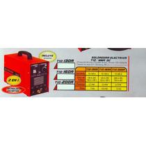 Soldadora Electrica Tig/mma Dc Tig-200a Versa #