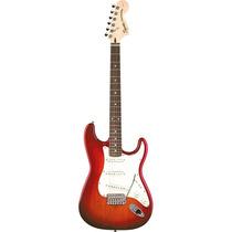 Squier Stratocaster Standard Special Edition Rwn Cherry Sunb