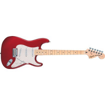 Squier Stratocaster Standard Mn Candy Apple Red Guitarra