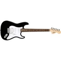 Squier Stratocaster Affinity Fat Rwn Ssh Black Guitarra