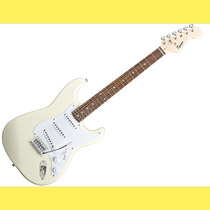 Guitarra Eléctrica Squier Stratocaster Bullet Artic White