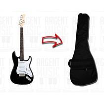 Guitarra Eléctrica Squier By Fender Stratocaster Con Funda