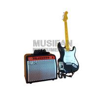 Combo Amplificador 30w + Guitarra Stratocaster + Accesorios