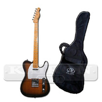 Guitarra Electrica Sx Ftl50 Telecaster + Funda Sx