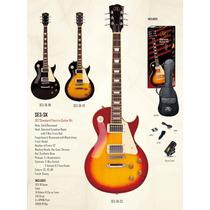 Guitarra Sx Les Paul Standard Funda+afinador+pua- En Palermo
