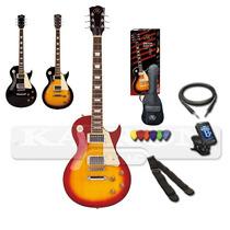 Pack Se3 Guitarra Sx Les Paul + Accesorios