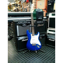 Guitarra Sx Stratocaster Standard Series Color Electric Blue