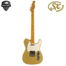 Guitarra Electrica Sx Telecaster Ftl-50 Envio Gratis Cap Fed