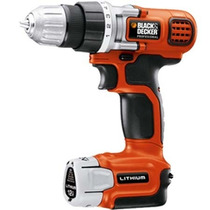 Taladro Atornillador Inalambrico 12v Litio 10mm Black Decker