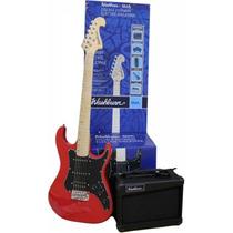 Washburn Gwlx7 Red, Pack De Guitarra Electrica