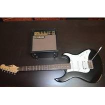 Vendo Guitarra Electrica Eg112 Yamaha C/amplificador Yamaha
