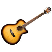 Guitarra Electroacustica Washburn Ea15 C/ Afiinador Garantia