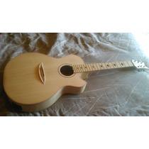Guitarra Electroacústica De Luthier (maple Y Ébano)