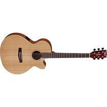 Guitarra Electro Acustica Cort Incluye Funda Sfx1f-nat