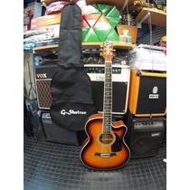 Guitarra Electroacustica G. Shelter 40 Apx Lf4000sb C/ Funda
