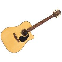 Guitarra Electroacustica Takamine Eg340sc Natural Con Corte