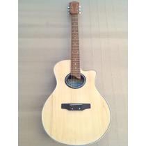 Guitarra Acustica Electroacustica Tipo/yamaha Apx Funda/puas