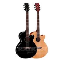 Guitarra Electroacustica Cort Sfx1f Eq Fishman Con Funda