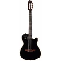 Guitarra Godin Multiac Acs-sa Nylon Black Pearl Con Funda