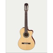 Guitarra Electroacustica Cuerdas De Nylon Aria Ak30ce