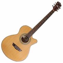 Washburn Ea14 N Guitarra Electro Acustica Con Eq Y Afinador