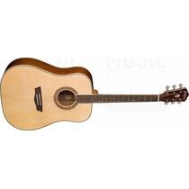 Oferta! Guitarra Electroacustica Washburn Wd10se Natural