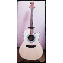 Guitarra Electroacústica Tipo Ovation Marca Hidden