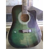 Guitarra Electroacustica Lazer Mic Activo Envio Canje Tarje!