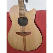 Guitarra Electroacústica Tipo Ovation Con Tono Y Volumen!
