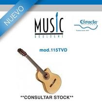 Guitarra Gracia - 115 Tvd - Bm Music Boulogne -