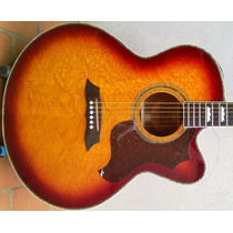 Guitarra Electroacustica Crafter, Caja Jumbo, C/corte Korea.