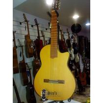 Guitarra Electroacústica Mantini Ss1 1/4 Angosta Eq Shadow