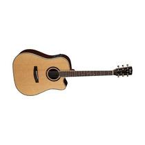 Guitarra Electro Acustica Cort Incluye Estuche Mr1200fx-nat