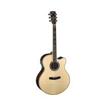 Guitarra Electro Acustica Cort Incluye Estuche Cj10x-nat