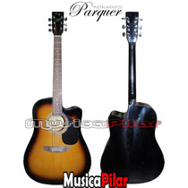 Guitarra Electroacustica Parquer Gac110eq3 Musica Pilar