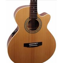 Cort Sfx-me Op Guitarra Electroacustica Con Corte Y Afinador
